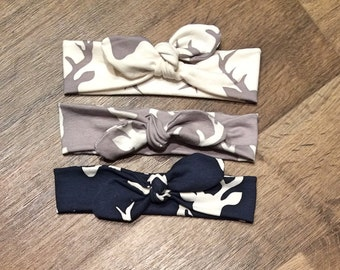 Knotted Headband Trio