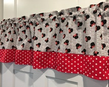 Unique Mickey Mouse Valance Related Items Etsy