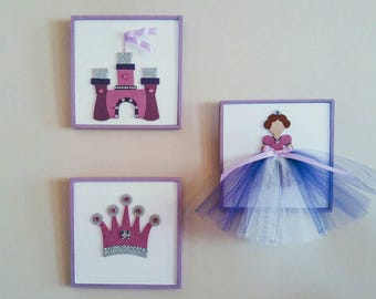 Purple Princess - Wall Decor