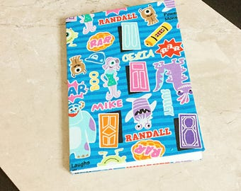 Monster Inc. Clothbound/Fabric Covered Notebook