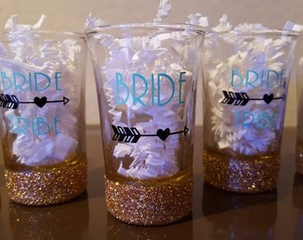 Shot Glasses- Bride Tribe