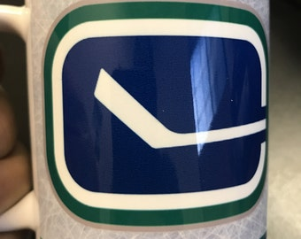 Custom Made Vancouver Canucks 11oz or 15oz Coffee Mug
