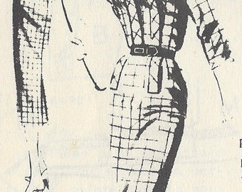 "1957 Vintage Sewing Pattern DRESS B36 1/2"" (R508) By 'Lachasse' of London S-368"