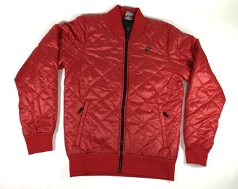 Nike Wet look Quilted Jacket