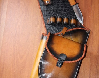Quiver, quiver, Traditional leather quiver, quiver