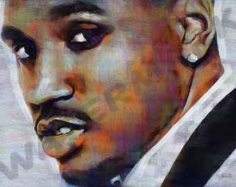 Trey Songz Art Print -  Oil Painting Poster  LFF0208
