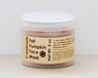 Pumpkin Face Mask - Face Mask - Pumpkin Mask - Pumpkin Facial Mask - Pumpkin Enzyme Mask - Facial Mask - Exfoliating Mask - Antioxidant Mask