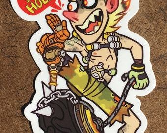 """Sticker: """"Fire In The Hole!"""""""