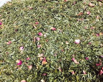 Pomegranate Green Tea 1/2 Pint Jar