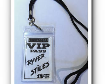 Custom VIP Party Passes