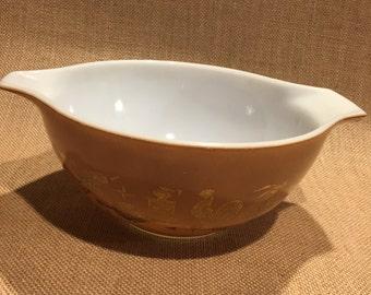 Pyrex Early American Cinderella Mixing Bowl 1.5QT