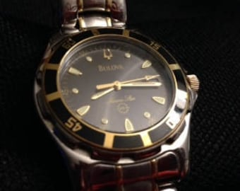 Reserved for my boy D.C.--Please do not buy--Bulova Marine Star Watch