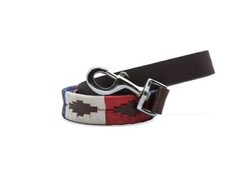 Leather Dog Leash - The Patriot