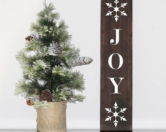 Joy Wood Sign, Rustic Christmas decoration, Wall Art, Wood Christmas Sign, Rustic christmas Sign, Farmhouse Christmas Signs, Rustic Joy Sign