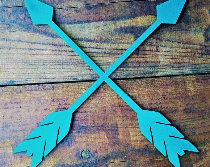 Metal Arrows, Tribal Arrows, Boho Decor, Arrow Wall Art, Arrow Decor, Rustic Arrow, Home and Living, Rustic Home Decor, Metal Arrow Sign