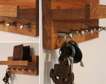 HolzKaspero key board / key rack small oak