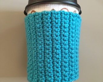 Hand crochet coffee cozy