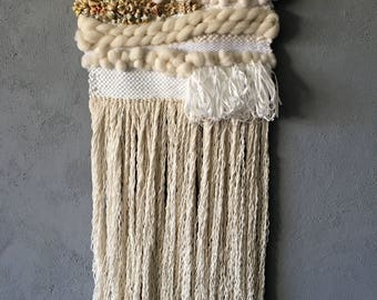 Large woven wall hanging PORQUEROLLES