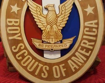 Eagle Scout wood emblem