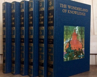 The Wonderland of Knowledge The Pictorial Encyclopedia **SALE 10% OFF**
