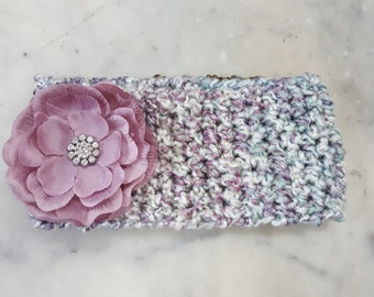 Headband/Crocheted/women gift ideas/teen gift ideas/fall fashion/winter fashion/flower/super soft/accesspry/warm/fashionable