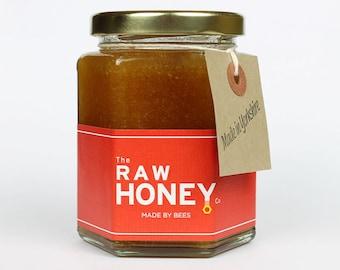 Raw Yorkshire Heather Honey 340g/12oz