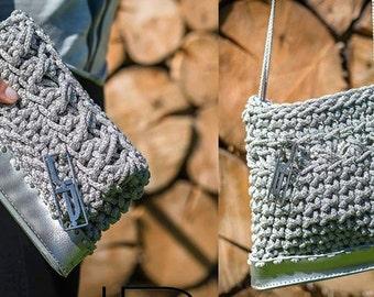"""Crochet Clutch """"Light"""""""