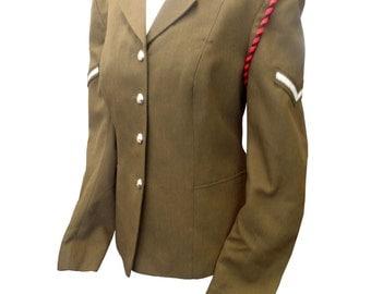 Uniform Woman's No.2 Adjutant Generals Dress Army Tunic - Size 164/103/90 - Vintage