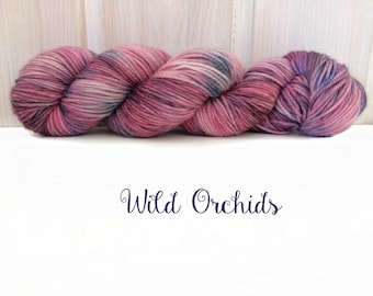 "MCN DK Yarn ""Wild Orchids"", Hand-dyed"