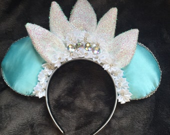 Princess and the frog inspired mickey-Minnie ears,