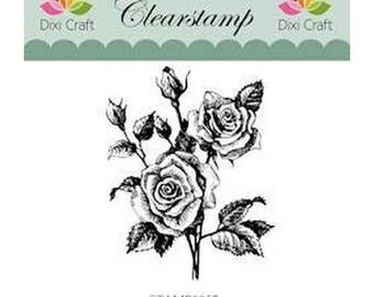 Buffer clear transparent scrapbooking CRAFT DIXI ROSE 057