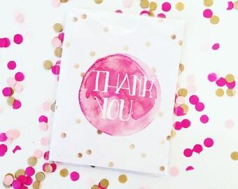 Thank You Confetti Card