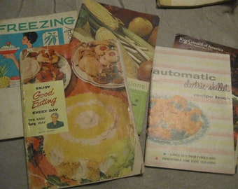1940s Cookbook Lot Enjoy Good Eating Every Day The Easy Spry Way And 4 More  Books