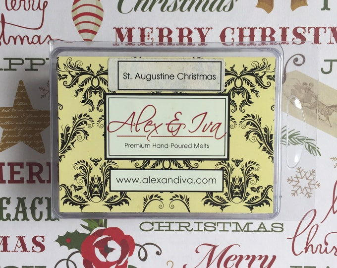 St. Augustine Christmas - 4 oz melts