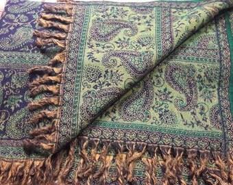 Tibetan Yak wool scarf/Tibetan Yak wool Blanket
