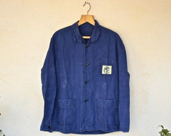 Vintage Blue MP Factory Overshirt - Size Medium //See Shop Page For Black Friday Offer!!!//