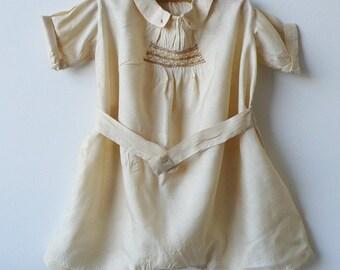 Silk romper c. 1910