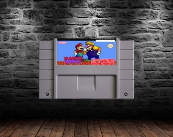 Mario and Wario - ROM Hack - Controller Supported Platforming Classic - SNES