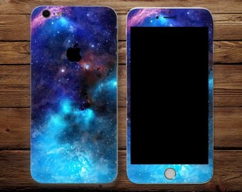 Galaxy iPhone iPhone sticker skin iPhone decal sticker iPhone iPhone iPhone 7 6 iPhone 5 iPhone Abdullah housing Space stars celestial stars