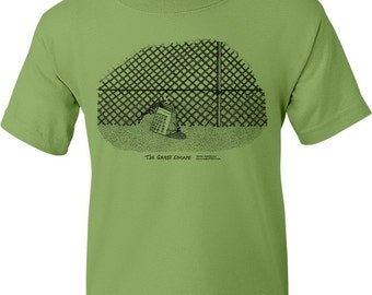 The Great Escape Movie Title T-Shirt (Kiwi Green)