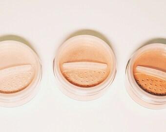 magic powder: collection // highlighter // eyeshadow // illuminator // talc free