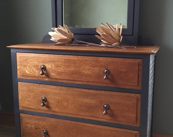 SOLD - Painted Chest of Drawers