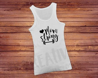 Mom Strong - Women's Gym tank top