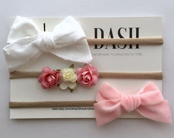 Baby Girl Bow Pack