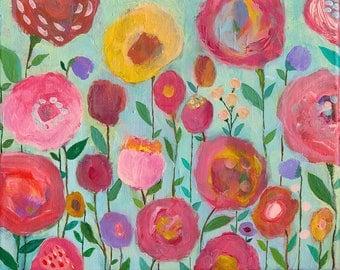 Dream Garden ,Print,floral print