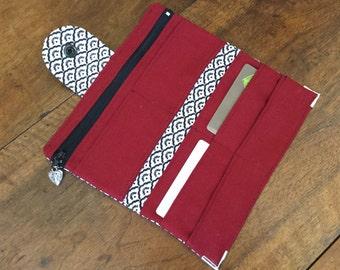 Wallet (travel companion) in cotton canvas - Ref. PF4