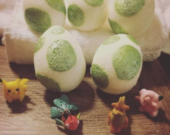5 Pokemon Bath Bomb Eggs Pokemon Go Pokebomb Surprise Toys Inside   Egg Bath Bomb