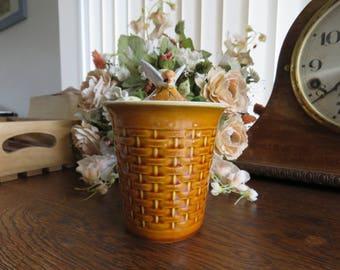 Vintage Secla Portuguese honey pot