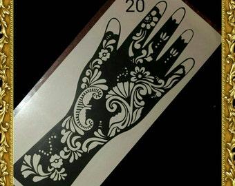 Reusable Hand & Arm Stencil