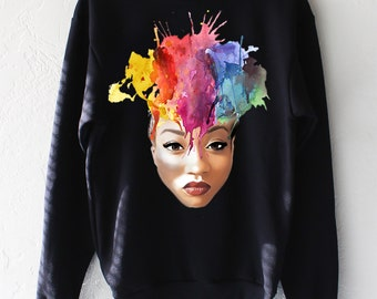 Korryn Gaines B(e) More Crewneck Sweater Free Shipping!!!!